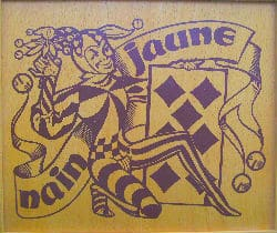 Jeu de carte le nain jaune au casino