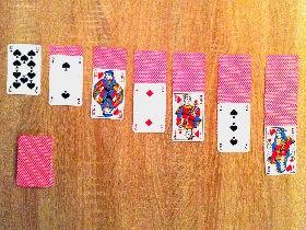 jeu de solitaire carte Règle du solitaire   Règles du jeu de la patience, réussite, solitaire
