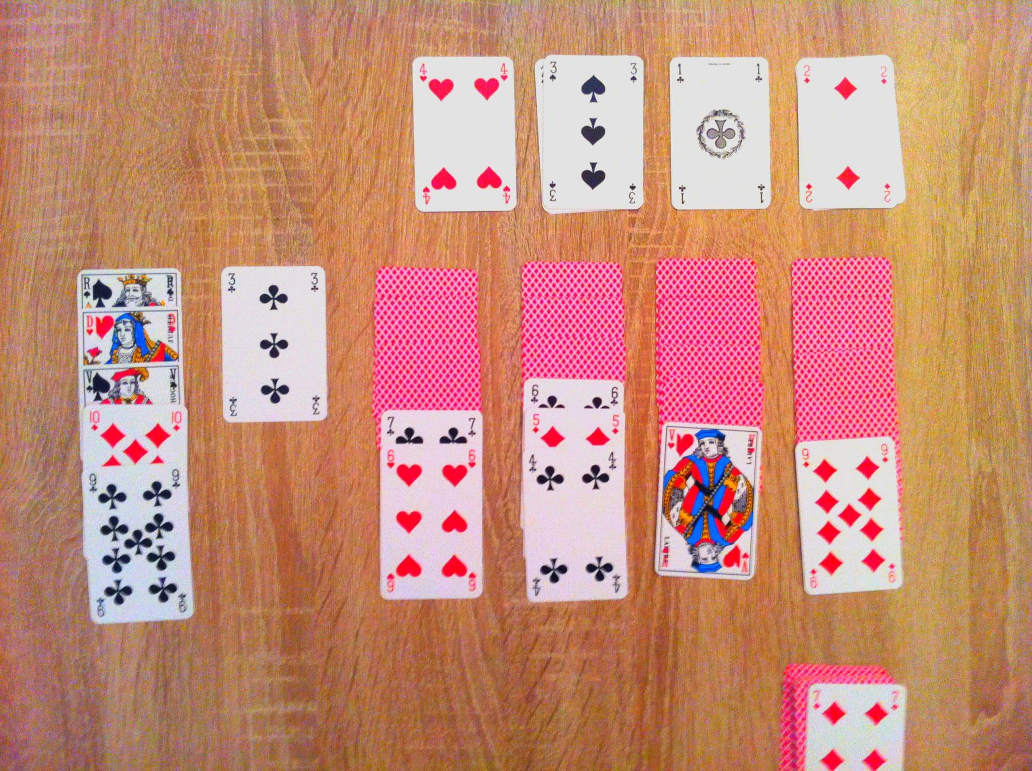 jeu de carte la crapette a